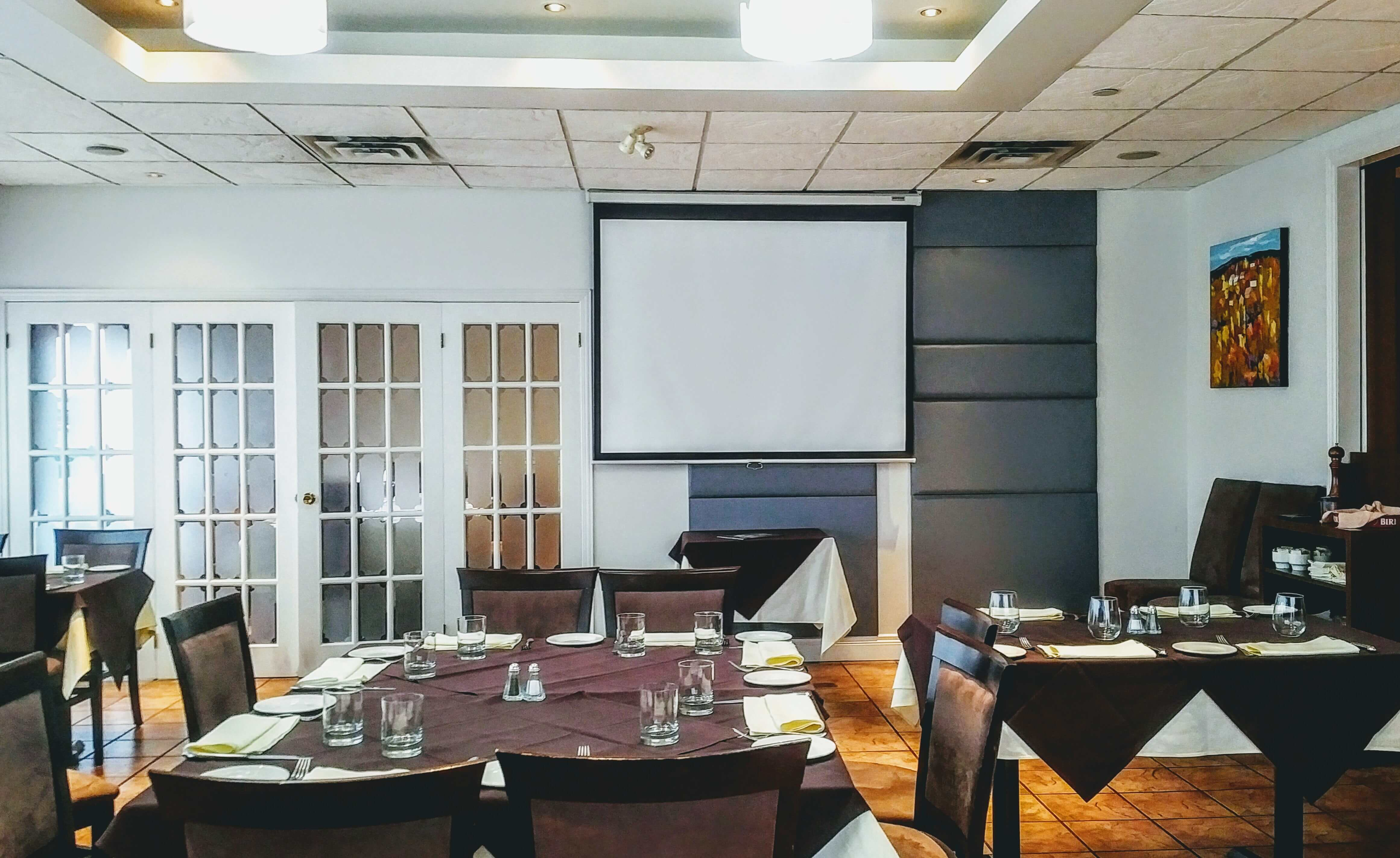 15% Discount On A/V Meeting Room Menu